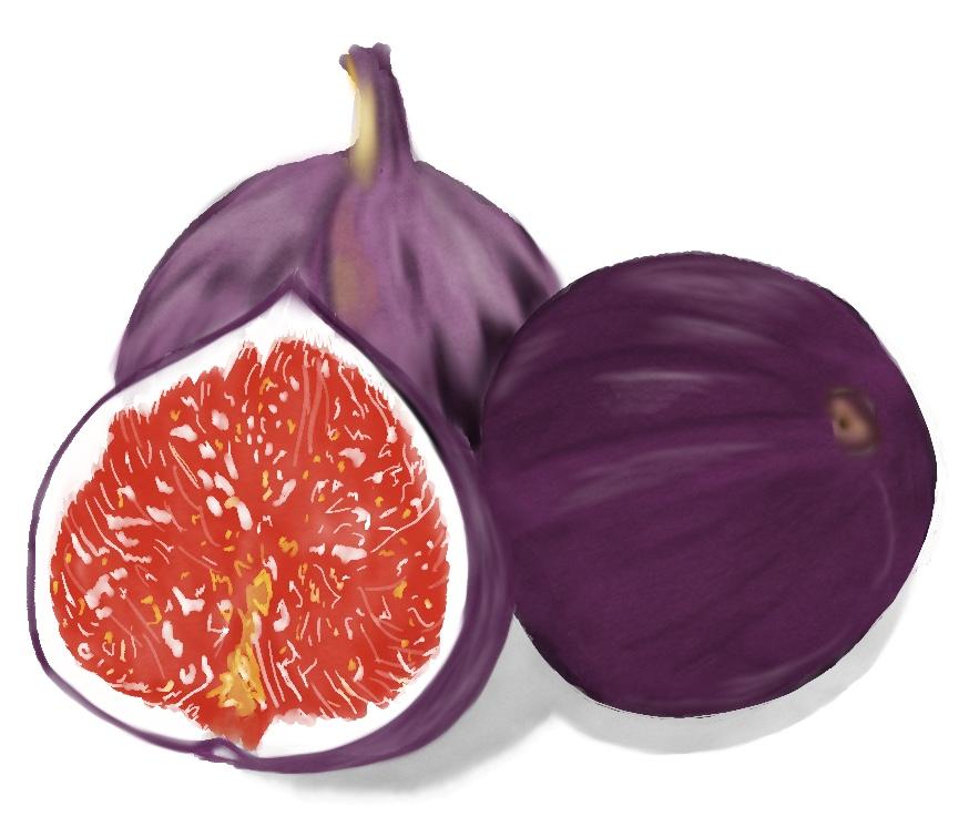 Datekveld med tørket frukt