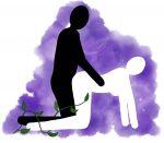 Stilling: Bakfra med svai rygg